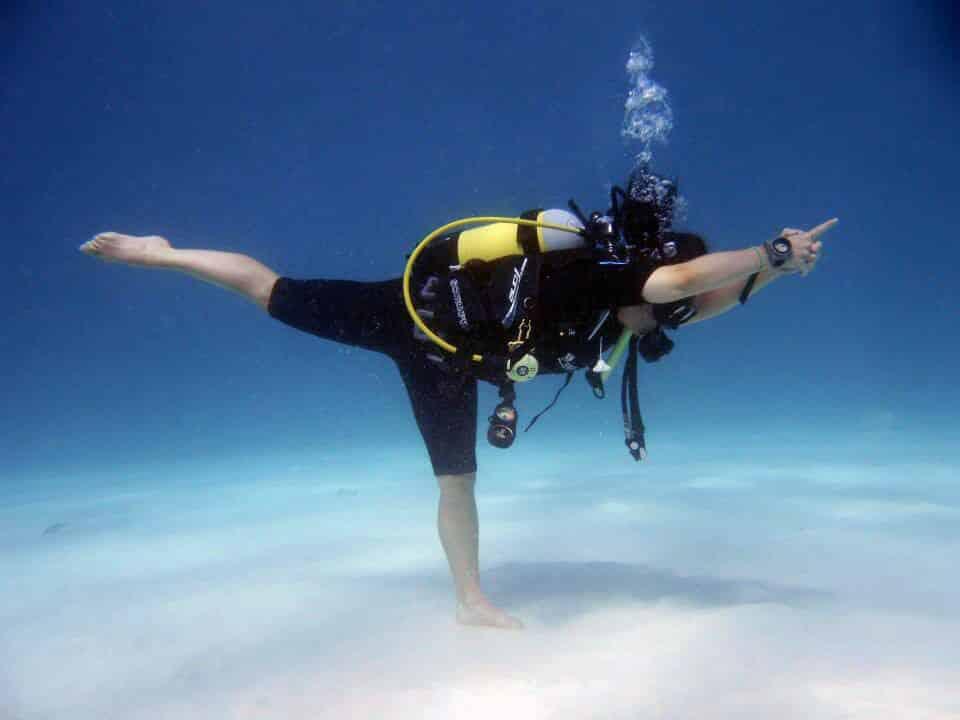 Yoga diving