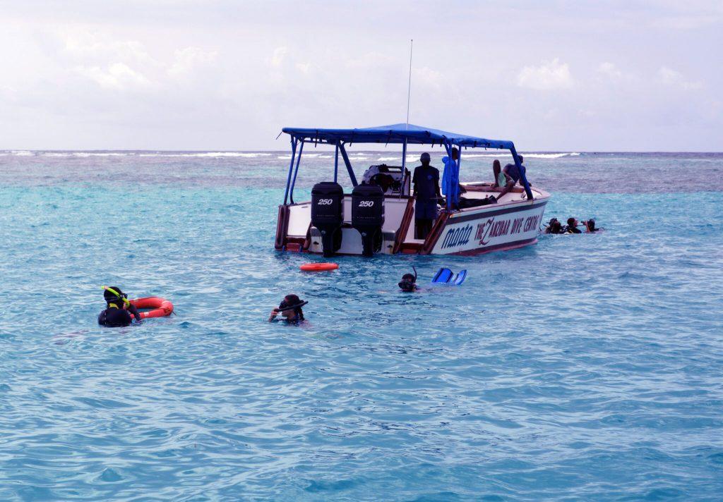 Speedboat Mnemba